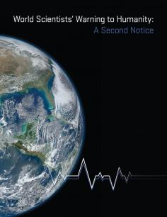 Scientists Second Notice Graphic cover