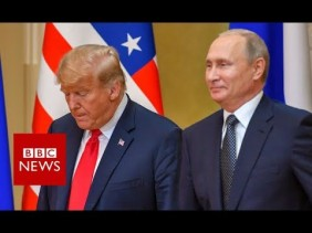 Trump.Putin Press Conference-BBC