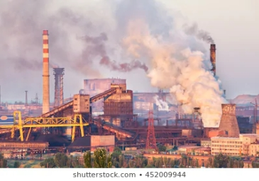industrial-landscape-ukraine-steel-factory-260nw-452009944
