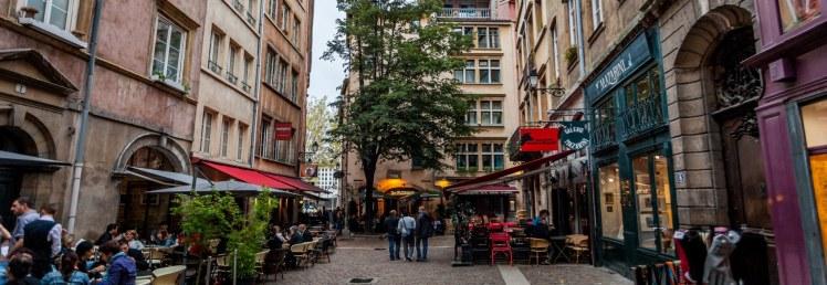 Lyon walk street