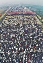 50-lane Traffic Jam in Beijing