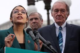 AOC and Markey unveil Green New Deal