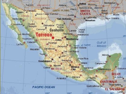 Torreon.ctr.of.Mexico.map