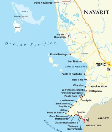 Coast of Nayarit,Mx